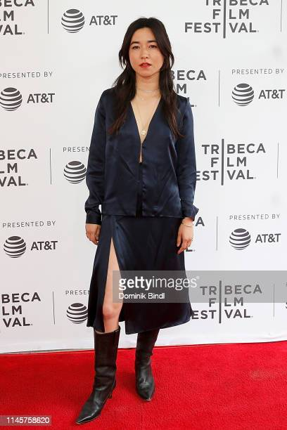 Maya Erskine attends the Plus One screening 2019 Tribeca Film Festival at SVA Theater on April 28 2019 in New York City