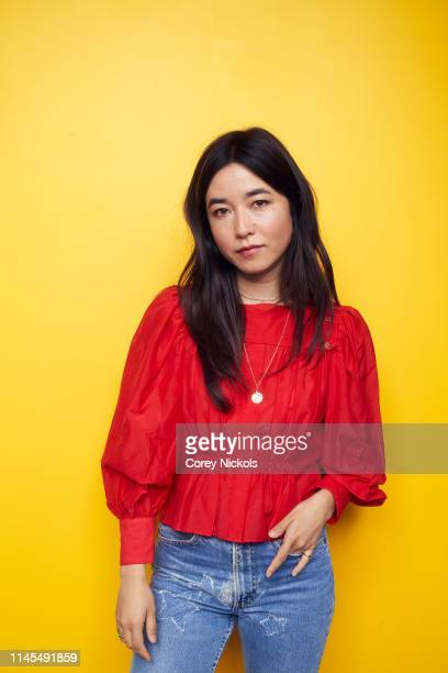 Maya Erskine of the film 'Plus One' poses for a portrait during the 2019 Tribeca Film Festival at Spring Studio on April 27 2019 in New York City
