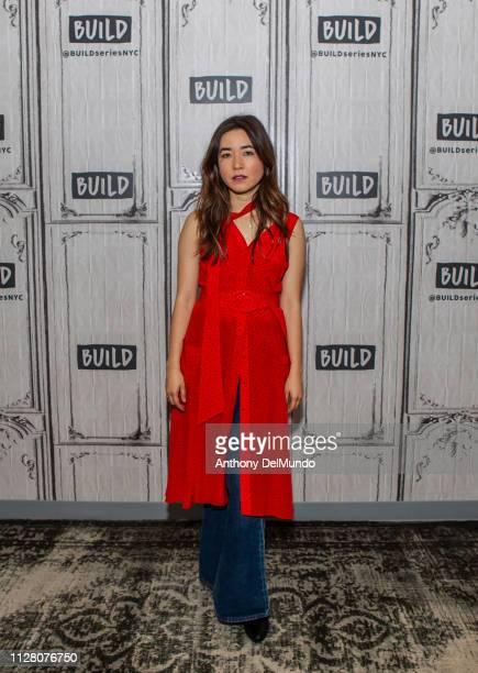 Maya Erskine talks about her television series PEN15 at Build Studio on February 07 2019 in New York City