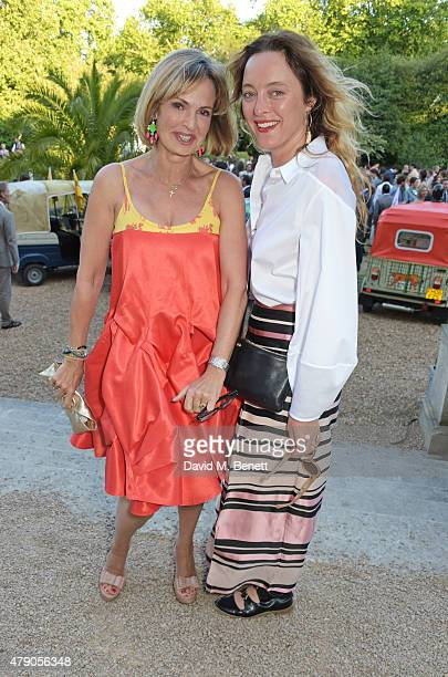 Maya Flick and Alice Temperley attend the Quintessentially Foundation and Elephant Family's Royal Rickshaw Auction presented by Selfridges at...