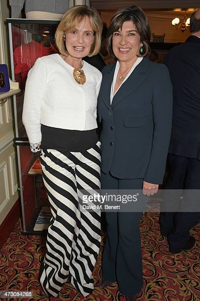 Maya Flick and Christiane Amanpour attend as Billy Elliot The Musical celebrates its 10th Anniversary in London's West End at the Victoria Palace...