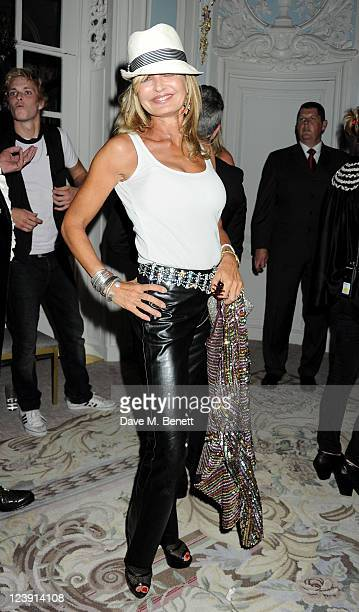 Maya Flick attends Freddie For A Day celebrating Freddie Mercury's 65th birthday in aid of The Mercury Pheonix Trust at The Savoy Hotel on September...