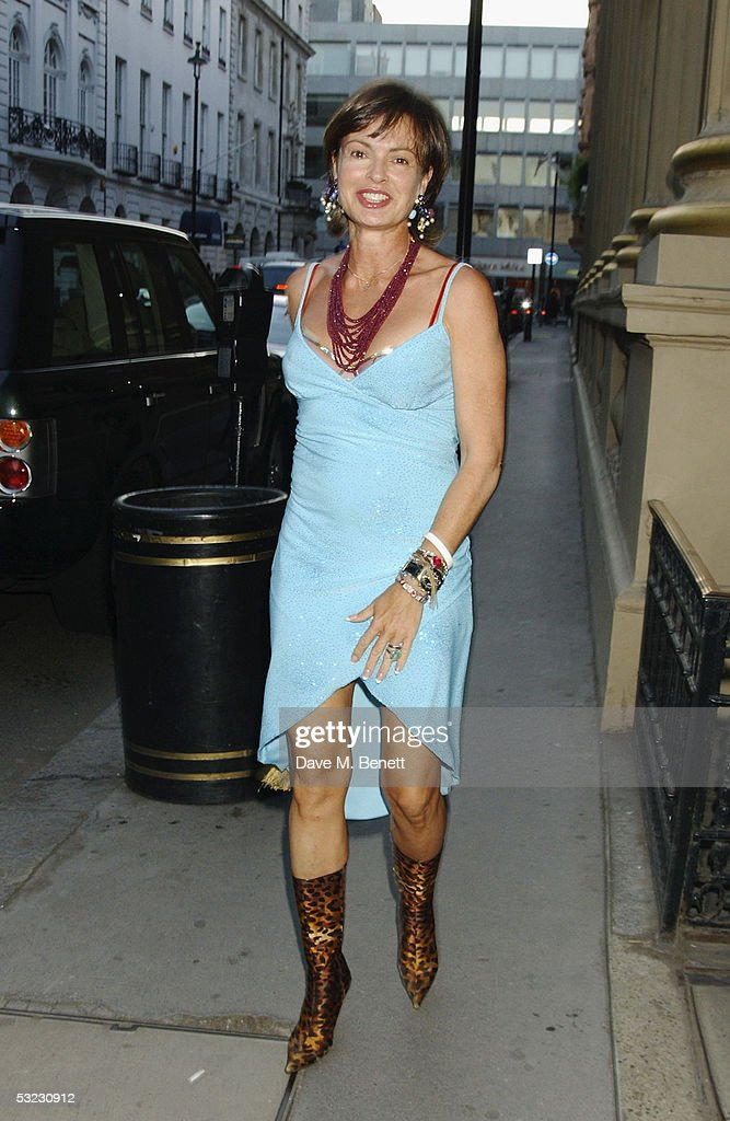 Maya Flick attends Renee Fleming's private Asprey dinner party at Asprey's flagship store in Bond Street July 12, 2005 in London, England.
