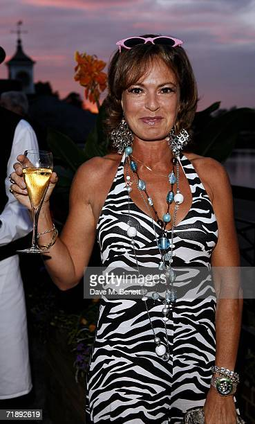 Maya Flick attends the Party Belle Epoque hosted by The Royal Parks Foundation and champagne brand PerrierJouet at the Lido Lawns in Hyde Park on...