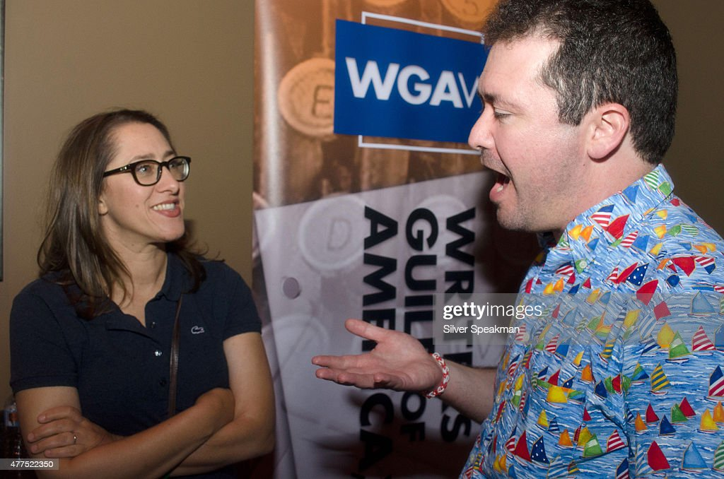 Maya Forbes (L) attends the SAG/WAGw Party during the 2015 Los Angeles Film Festival at Lucky Strike Lanes at L.A. Live on June 15, 2015 in Los Angeles, California.