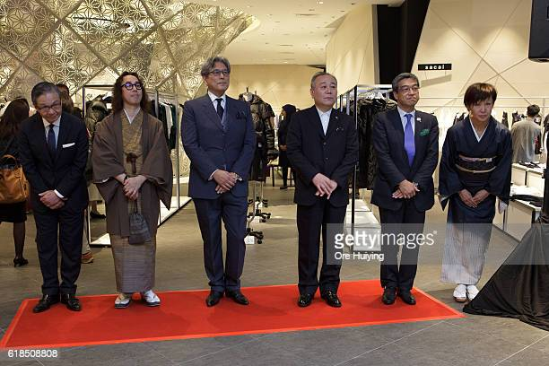 Maya Furuie Store Manager Hiroshi Ohnishi President and CEO of Isetan Mitsukoshi Holdings Nobuyuki Ota CEO of Cool Japan Fund Inc Paul Noritaka Tange...