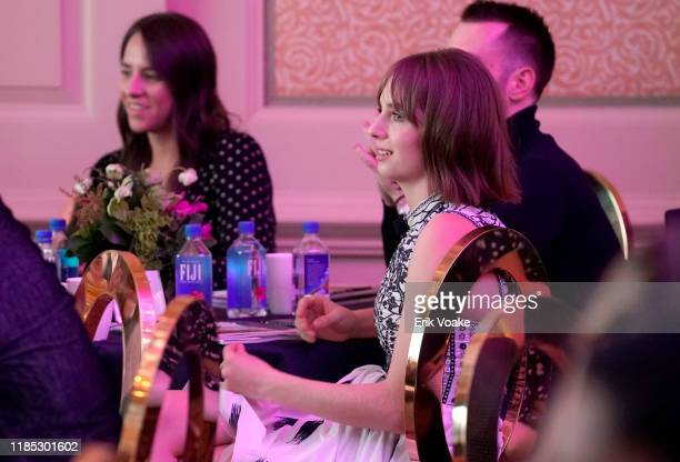 Maya Hawke attends FIJI Water at Newport Beach Film Festival Fall Honors and Variety's 10 Actors to watch on November 03 2019 in Newport Beach...