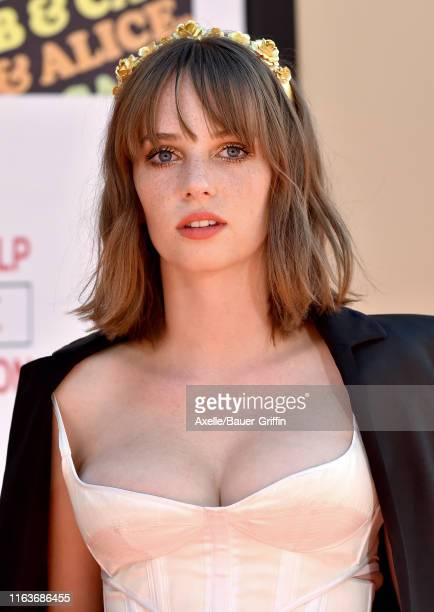 Maya Hawke attends Sony Pictures' Once Upon a Time in Hollywood Los Angeles Premiere on July 22 2019 in Hollywood California