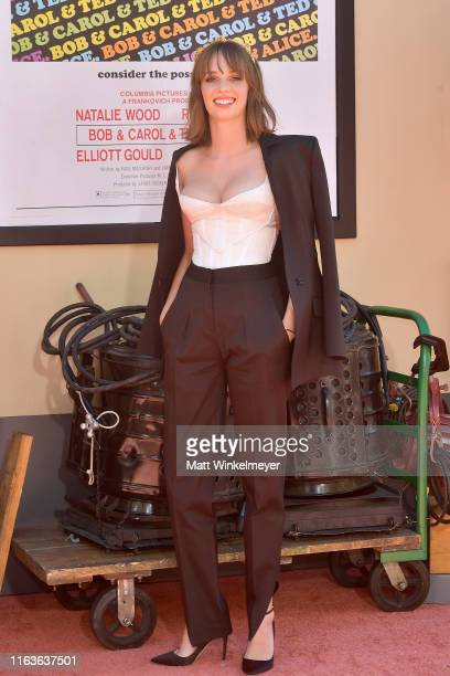 Maya Hawke attends Sony Pictures' Once Upon A TimeIn Hollywood Los Angeles Premiere on July 22 2019 in Hollywood California