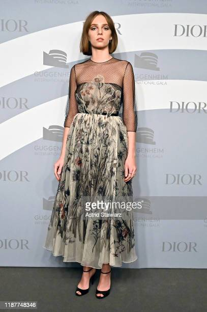 Maya Hawke attends the 2019 Guggenheim International Gala at Solomon R Guggenheim Museum on November 14 2019 in New York City