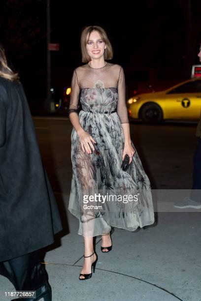 Maya Hawke attends the 2019 Guggenheim International Gala on November 14 2019 in New York City