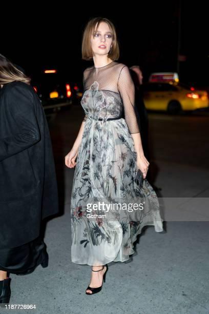 Maya Hawke attends the 2019 Guggenheim International Gala on November 14, 2019 in New York City.