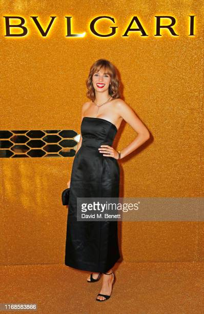Maya Hawke attends the Bvlgari Serpenti Seduttori launch at the Roundhouse on September 15 2019 in London England