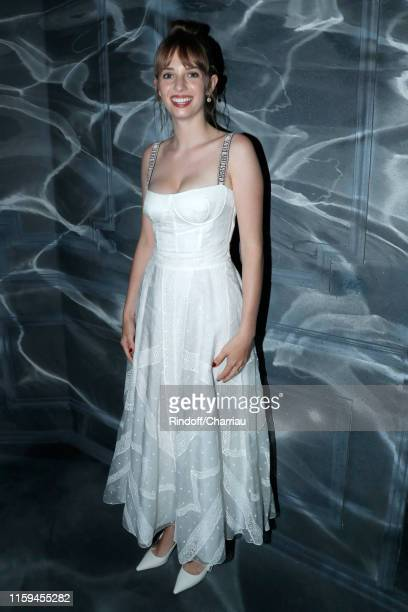 Maya Hawke attends the Christian Dior Haute Couture Fall/Winter 2019 2020 show as part of Paris Fashion Week on July 01 2019 in Paris France