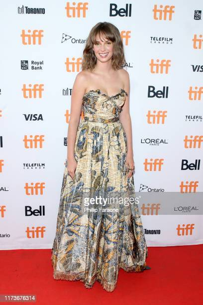 Maya Hawke attends the Human Capital premiere during the 2019 Toronto International Film Festival at Ryerson Theatre on September 10 2019 in Toronto...