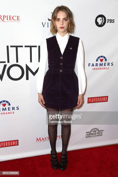 Maya Hawke attends the Little Women FYC Reception And Panel Discussion at Linwood Dunn Theater at the Pickford Center for Motion Study on May 5 2018...