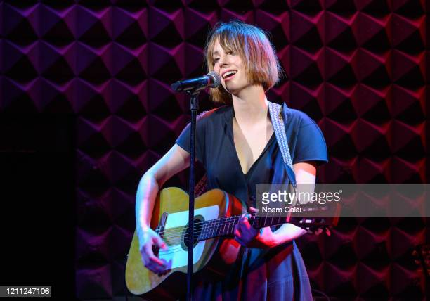 Maya Hawke performs in concert at Joe's Pub on March 08, 2020 in New York City.