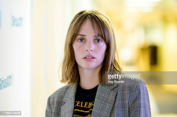 Maya Hawke visits the Larry Flick show at SiriusXM at SiriusXM Studios on August 21 2019 in New York City