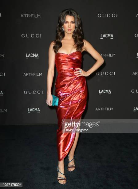 Maya Henry attends 2018 LACMA Art Film Gala honoring Catherine Opie and Guillermo del Toro presented by Gucci at LACMA on November 3 2018 in Los...