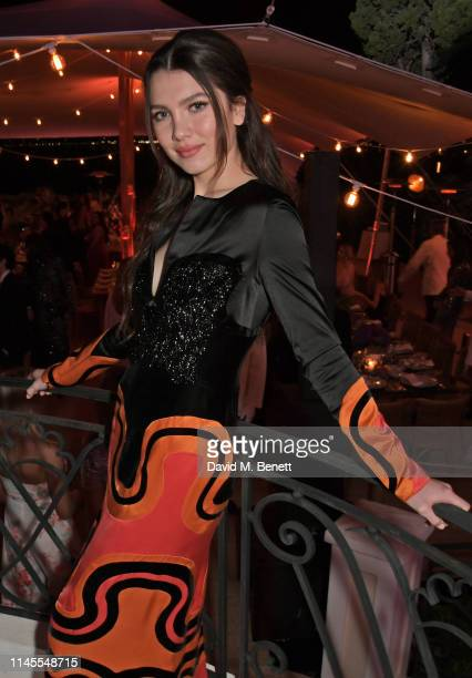 Maya Henry attends a private dinner hosted by Alejandro Agag to celebrate the World Premiere of Formula E documentary And We Go Green during the 72nd...