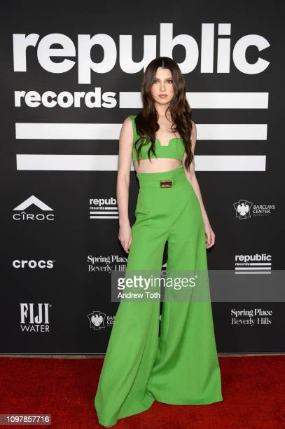 Maya Henry attends Republic Records Grammy after party at Spring Place Beverly Hills on February 10 2019 in Beverly Hills California