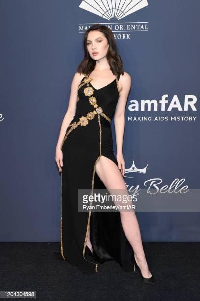 Maya Henry attends the 2020 amfAR New York Gala on February 05 2020 in New York City