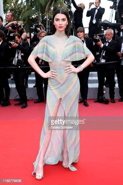 Maya Henry attends the screening of Once Upon A Time In Hollywood during the 72nd annual Cannes Film Festival on May 21 2019 in Cannes France