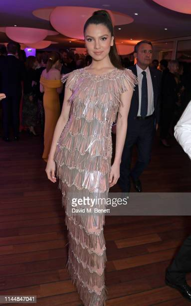 Maya Henry attends the Vanity Fair and Chopard Party celebrating the 72nd Annual Cannes Film Festival at Hotel du CapEdenRoc on May 18 2019 in Cap...