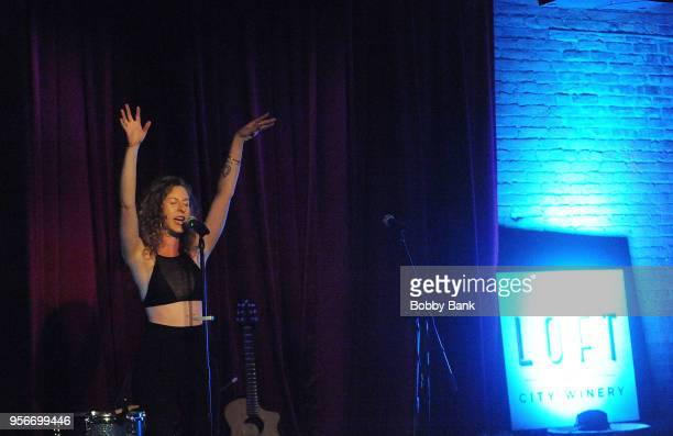 Maya Isac performs at The Loft at City Winery on May 9 2018 in New York City