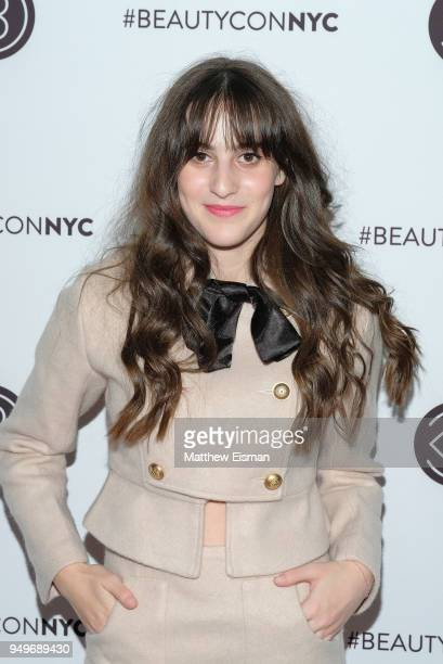 Maya Jade Frank attends Beautycon Festival NYC 2018 Day 1 at Jacob Javits Center on April 21 2018 in New York City