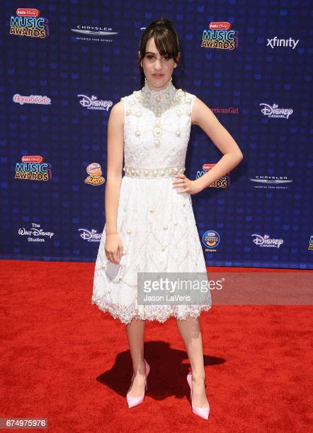 Maya Jade Frank attends the 2017 Radio Disney Music Awards at Microsoft Theater on April 29 2017 in Los Angeles California