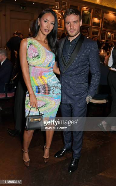 Maya Jama and Liam Payne attend the British GQ LFWM dinner hosted by Dylan Jones and Liam Payne with HUGO during London Fashion Week Men's June 2019...