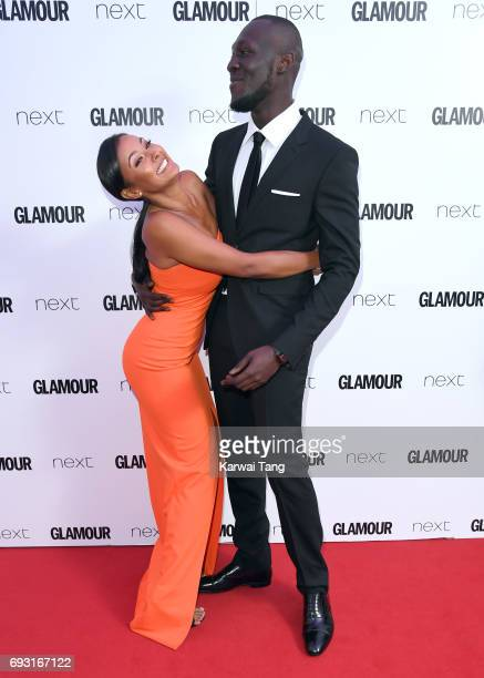 Maya Jama and Stormzy attend the Glamour Women of The Year Awards 2017 at Berkeley Square Gardens on June 6 2017 in London England