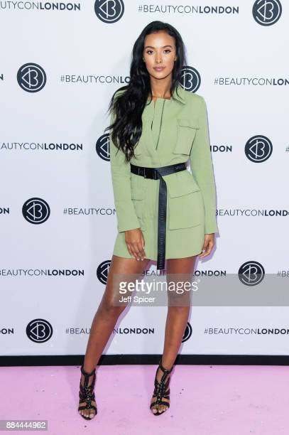 Maya Jama attends Beautycon Festival 2017 at Olympia London on December 2 2017 in London England