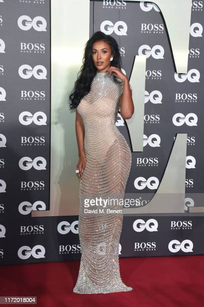 Maya Jama attends GQ Men Of The Year Awards 2019 in association with HUGO BOSS at Tate Modern on September 03, 2019 in London, England.