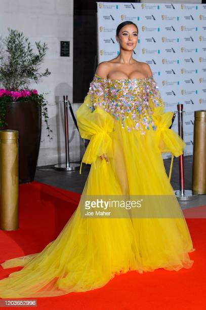 Maya Jama attends the EE British Academy Film Awards 2020 After Party at The Grosvenor House Hotel on February 02, 2020 in London, England.