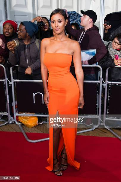 Maya Jama attends the Glamour Women of The Year awards 2017 at Berkeley Square Gardens on June 6 2017 in London England