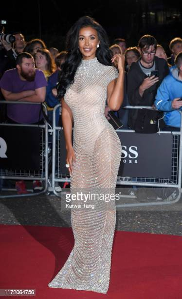 Maya Jama attends the GQ Men Of The Year Awards 2019 at Tate Modern on September 03, 2019 in London, England.