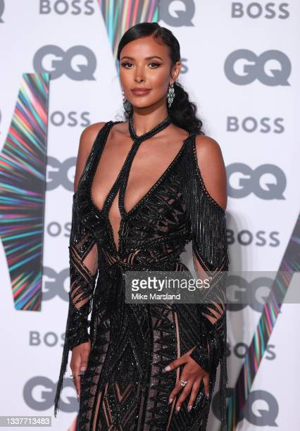 Maya Jama attends the GQ Men Of The Year Awards 2021 at Tate Modern on September 01, 2021 in London, England.