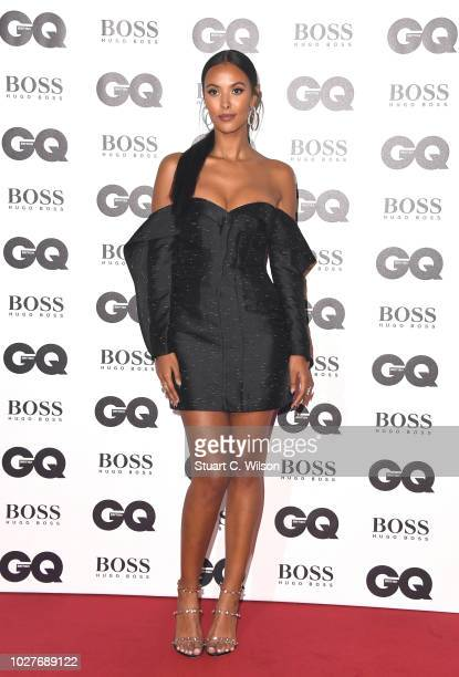 Maya Jama attends the GQ Men of the Year awards at the Tate Modern on September 5 2018 in London England