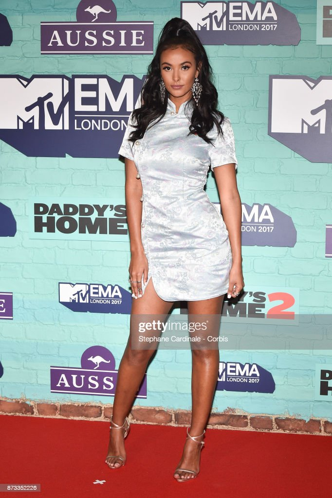 Maya Jama attends the MTV EMAs 2017 at The SSE Arena, Wembley on November 12, 2017 in London, England.