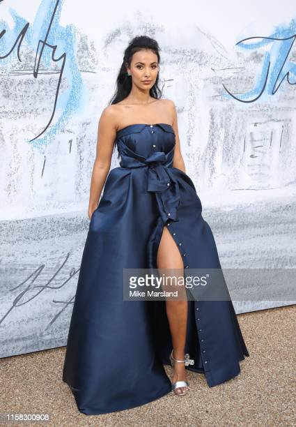 Maya Jama attends The Summer Party 2019 Presented By Serpentine Galleries And Chanel at The Serpentine Gallery on June 25 2019 in London England