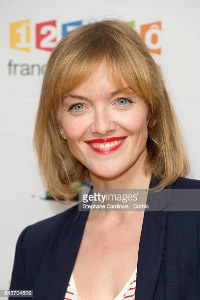 Maya Lauque attends the France Television 2016/2017 Photocall on June 29 2016 in Paris France