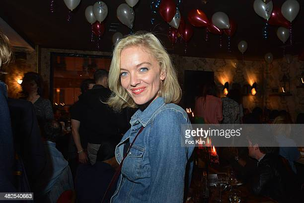 Maya Lauque attends the Matthieu Chedid In Concert at the Bus Palladium Anniversary Party on April 3, 2014 in Paris, France.