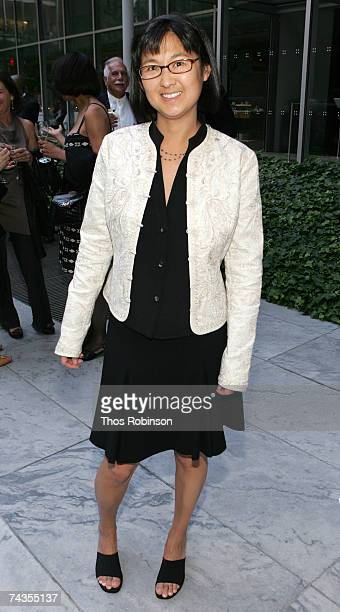 Maya Lin attends the dinner for Richard Serra celebrating forty years at the Museum of Modern Art on May 29 2007 in New York City