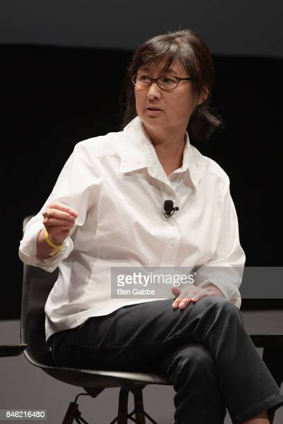 Maya Lin speaks onstage during TIME Celebrates FIRSTS on September 12 2017 in New York City