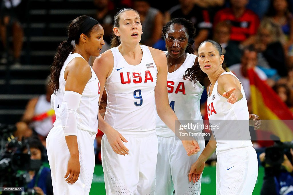 Basketball - Olympics: Day 15