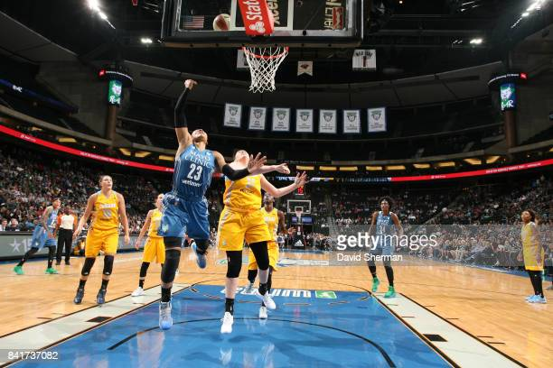 Maya Moore of the Minnesota Lynx shoots the ball against the Chicago Sky on September 1 2017 at Xcel Energy Center in St Paul Minnesota NOTE TO USER...