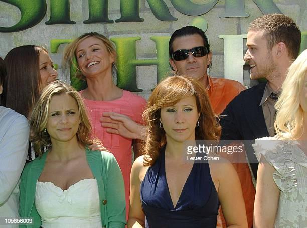 Maya Rudolph Amy Sedaris Cameron Diaz Cheri Oteri Antonio Banderas and Justin Timberlake