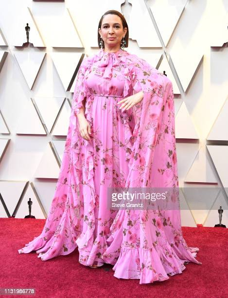 Maya Rudolph arrives at the 91st Annual Academy Awards at Hollywood and Highland on February 24 2019 in Hollywood California